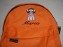 Kinderrucksack orange